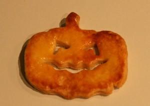 Halloween-Plätzchen mit Eigelb-Glasur