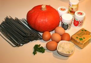 Zutaten Sepia-Gericht