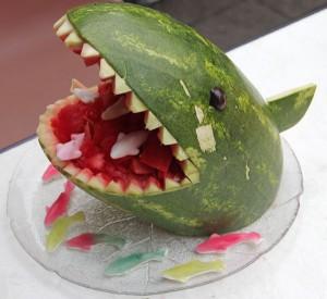 Melonen-Hai, fertig