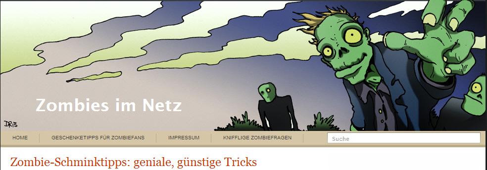 Zombie-Schmink-Tipps
