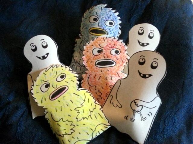 Monster- und Gespenstertütchen